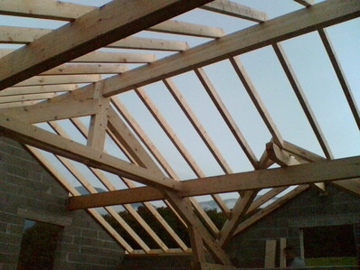 structure, bois,  Ampuis